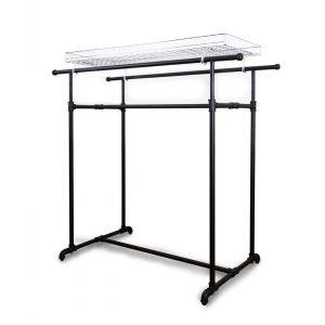 Height Adjustable H Rack - Matte Black
