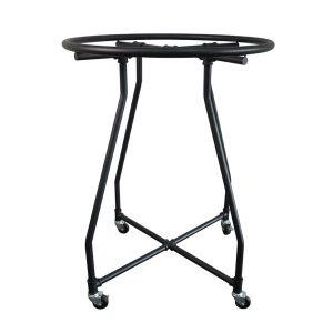 Adjustable Round Rack - Matte Black