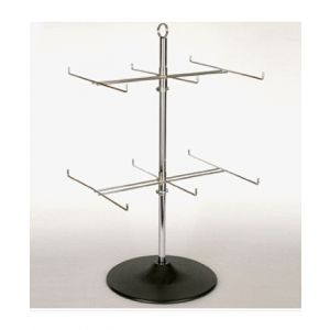 2-TIER SPINNER DISPLY W/ PRONGS